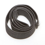 Резинка 20мм 322 black 0020